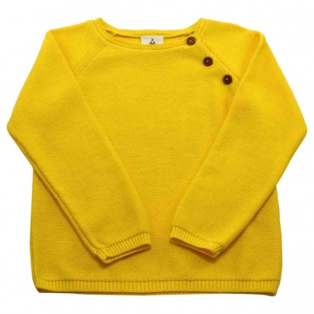 Pull tricot mimosa Clément