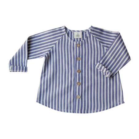Clotaire Blouse blue stripes