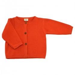 Cardigan tricot tangerine Victoire