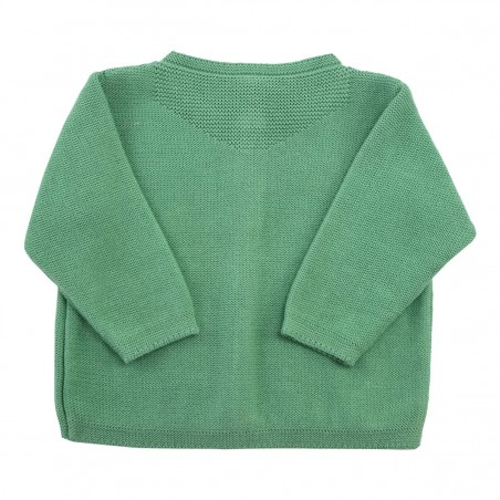 Cardigan vert Victoire