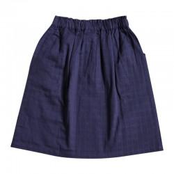 Jupe lange bleu-gris Brune