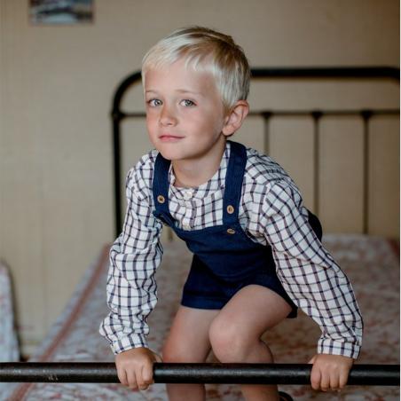 Chemise à carreaux Henri