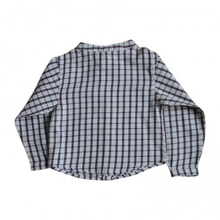 Maxence Shirt green double gauze