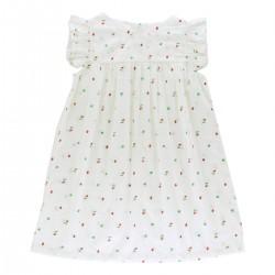 Hortense Sleeveless Dress mimosa printed fabric