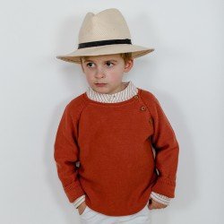 Clement Jumper terracotta knit
