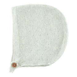 Clovis Bonnet blue-grey knit
