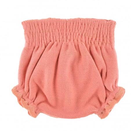 Bloomer smocké tricot pivoine lurex César