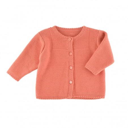 Victoire Cardigan ochre knit