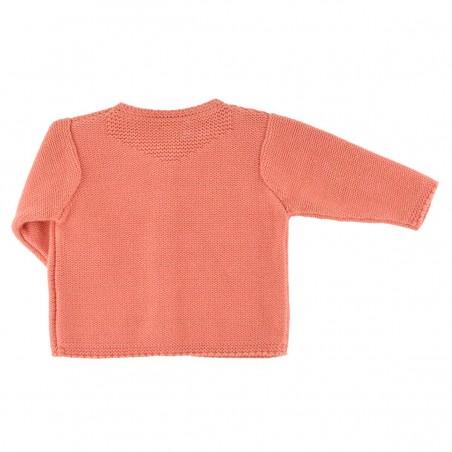 Cardigan tricot pivoine lurex Victoire