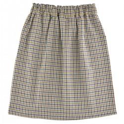 Brune Skirt printed plumetis