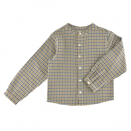 Maxence Shirt blue gingham