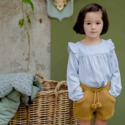 Fantine Shorts moss knit