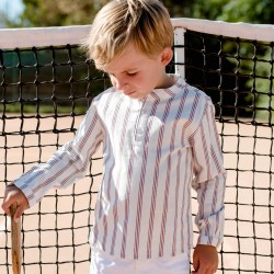 Maxence Shirt tennis stripes