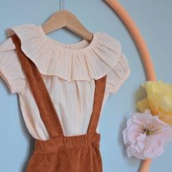 Charlotte blouse apricot...
