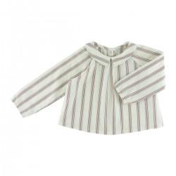Octave blouse tennis stripes