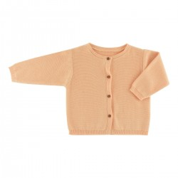 Victoire cardigan apricot knit
