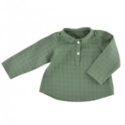 Maxence Shirt khaki double...