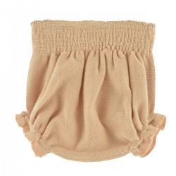Bloomer tricot abricot César