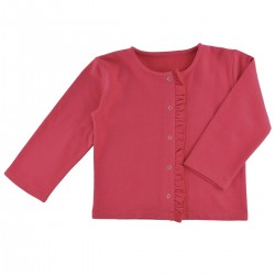 Veste sweat rouge Margaret