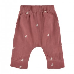Leandre Pants embroidered...