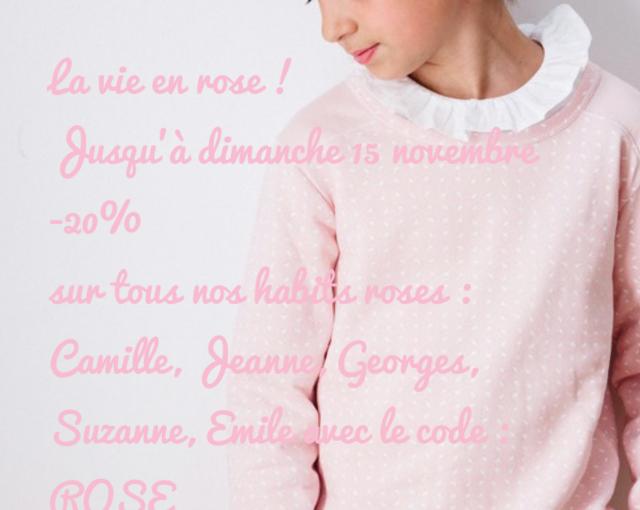 La vie en rose !