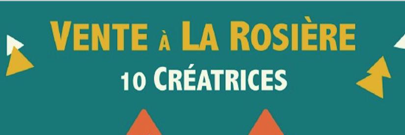 Vente à la Rosière... nouvelle édition les 6 et 7 octobre 2016
